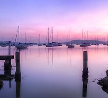 Koolewong Harbour Panoramic by puresilk