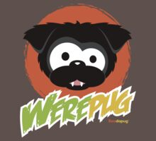 Black WerePug - Dark Apparel Baby Tee