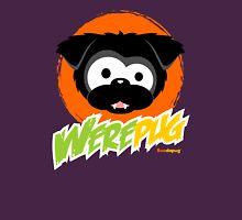 Black WerePug - Dark Apparel Womens Fitted T-Shirt