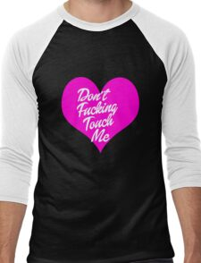 Don't Touch Me Men's Baseball ¾ T-Shirt