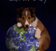 Earth Day Sheltie by jkartlife