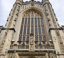 Bath Cathedral by helenpartlow