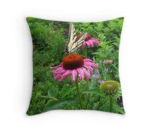 Swallowtail fun Throw Pillow