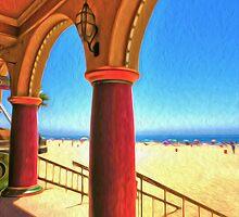 Santa Cruz Boardwalk by Gregory Dyer