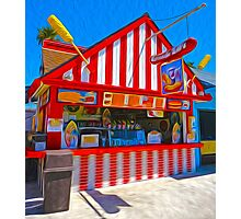 Santa Cruz Boardwalk Photographic Print