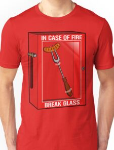 In case of fire... Unisex T-Shirt