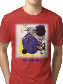 Kandinsky - Small World Tri-blend T-Shirt