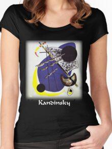 Kandinsky - Small World Women's Fitted Scoop T-Shirt