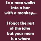 So A Man Walks Into A Bar... by funkybreak