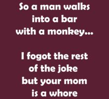 So A Man Walks Into A Bar... by funkybreak