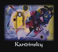 Kandinsky - Yellow-Red-Blue by William Martin