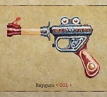 Raygun 001 by Garabating