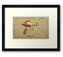 Raygun 005 Framed Print