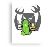 In A Pickle Canvas Print