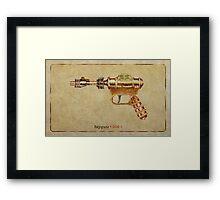 Raygun 006 Framed Print