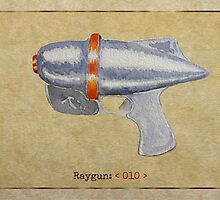 Raygun 010 by Garabating