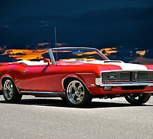 1969 Mercury Cougar Convertible  by DaveKoontz