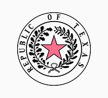 Texas PINK N BLACK   State Seal   SteezeFactory.com Unisex T-Shirt