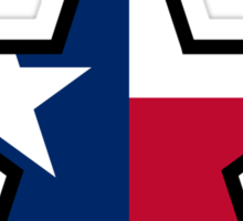 Texas Star | SteezeFactory.com Sticker