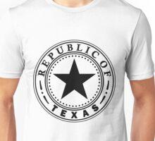 Texas 1836 | State Seal | SteezeFactory.com Unisex T-Shirt