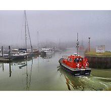 Foggy Lowestoft Photographic Print