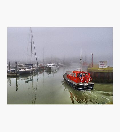 Foggy Lowestoft Photographic Print