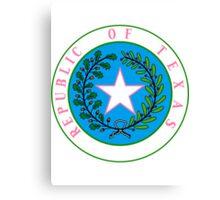 Texas Barbie | State Seal | SteezeFactory.com Canvas Print