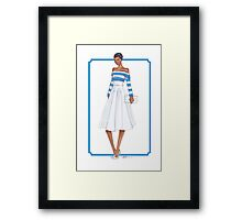 Bold and Striped Framed Print
