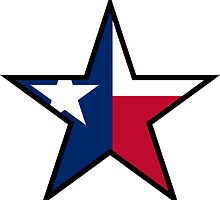 Texas Star | SteezeFactory.com by FreshThreadShop