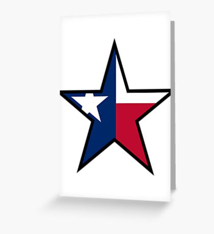 Texas Star | SteezeFactory.com Greeting Card