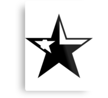 Texas Star Punk | SteezeFactory.com Metal Print