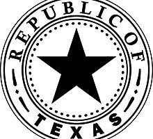 Texas 1836 | State Seal | SteezeFactory.com by FreshThreadShop