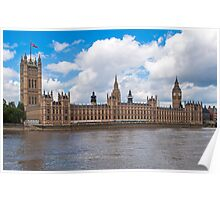 Palace of Westminster. Poster