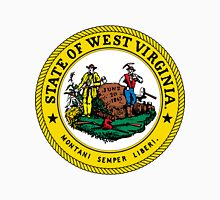 West Virginia | State Seal | SteezeFactory.com Unisex T-Shirt