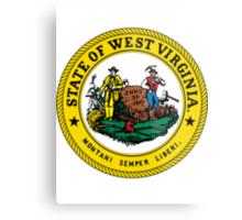 West Virginia | State Seal | SteezeFactory.com Metal Print