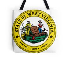 West Virginia | State Seal | SteezeFactory.com Tote Bag