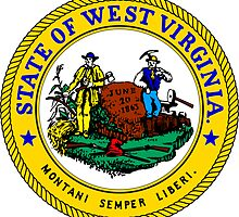 West Virginia WVU Edition | State Seal | SteezeFactory.com by FreshThreadShop