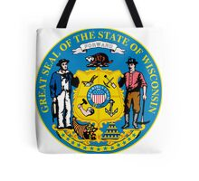 Wisconsin | State Seal | SteezeFactory.com Tote Bag