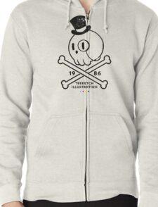 TeeKetch Logo (for cool kids) Zipped Hoodie
