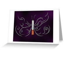 Cigarette Butterfly Greeting Card