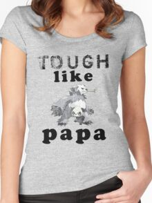 Tough like Pancham Women's Fitted Scoop T-Shirt