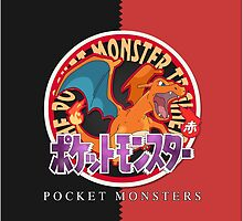 Pocket Monsters Red by SnapFlash