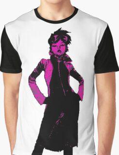 Jubilee X-Men Ink Scratch Graphic T-Shirt