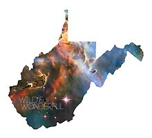 West Virginia Nebula - Wild & Wonderful by NikkDoes