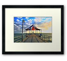 Brighton Beach, Adelaide Framed Print