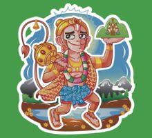 Hanuman - Hindu God - Bunch of Bhagwans One Piece - Short Sleeve