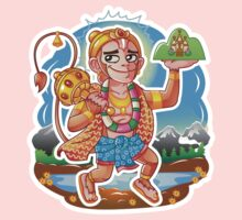 Hanuman - Hindu God - Bunch of Bhagwans Kids Clothes