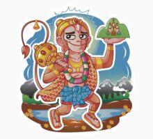 Hanuman - Hindu God - Bunch of Bhagwans Kids Tee