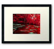 River of Blood Framed Print