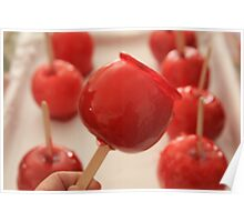 Candy Apple Red Poster